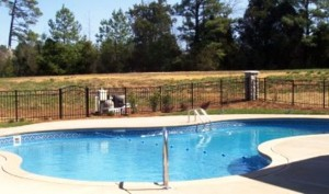 Raleigh Aluminum Pool Fence Enclosure